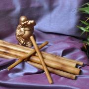 Bete de bambus pentru masaj kit 6 bucati 129 lei