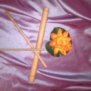 Bete de   bambus pentru  masaj  3 piese 65 ron