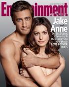 Anne Hathaway si Jake Gyllenhaal au pozat nud pentru coperta unei reviste