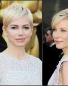Coafurile vedetelor - Oscar 2011