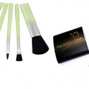Pachet cosmetic Ruby Rose HB 2541 + Set pensule HB 054 + Pudra compacta HB 5602