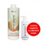 Tratament keratina indreptare IHAIR KERATIN Cocos 1000ml + Cadou Sampon Clarifiant 250ml