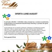 Promotie luna august